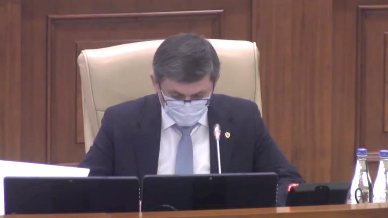 Ședința Parlamentului Republicii Moldova, din 1 octombrie 2021