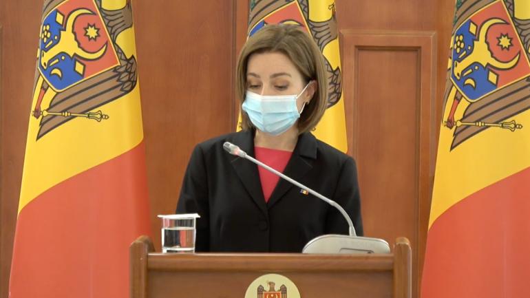 Declarații de presă ale Președintelui Republicii Moldova, Maia Sandu, și Președintelui Republicii Slovenia, Borut Pahor