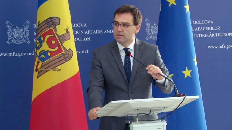 Briefing de presă susținut de președinta în exercițiu a OSCE, ministra Afacerilor Externe a Suediei, Ann Linde și viceprim-ministrul, ministrul Afacerilor Externe și Integrării Europene al Republicii Moldova, Nicu Popescu