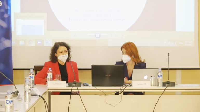 """Prezentarea publică a documentului de analiză """"Investigațiile jurnalistice și evaluarea judecătorilor: vase comunicante sau procese paralele?"""""""