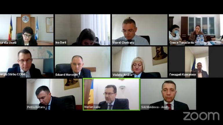 Curtea de Conturi examinează raportul auditului asupra rapoartelor financiare ale Unității Teritoriale Autonome Găgăuzia încheiate la 31 decembrie 2020