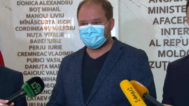 Declarații de presă după întrevederea primarului general Ion Ceban cu ministrul Afacerilor Interne Ana Revenco