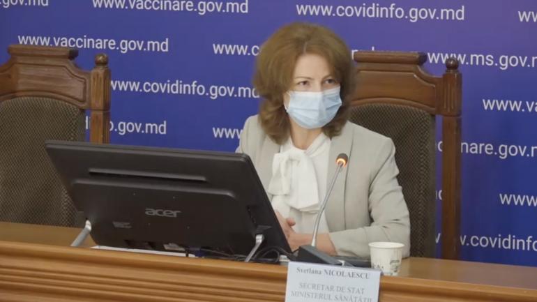Conferința de presă privind situația epidemiologică privind COVID-19 și derularea campaniei de vaccinare