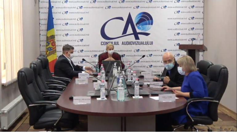 Ședința Consiliului Audiovizualului, din 23 septembrie 202
