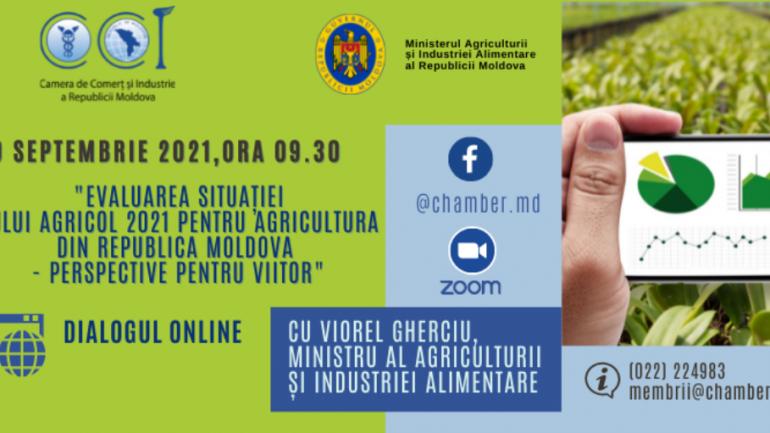 Dialog online cu Viorel Gherciu, Ministru al Agriculturii și Industriei Alimentare