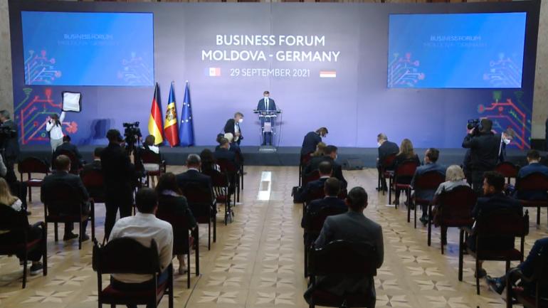 Forumul bilateral Republica Moldova – Germania. Participă președinții Maia Sandu și Frank-Walter Steinmeier
