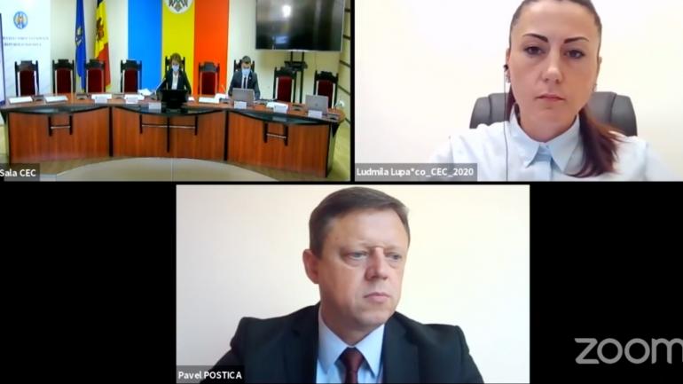 Ședința Comisiei Electorale Centrale, din 8 octombrie 2021