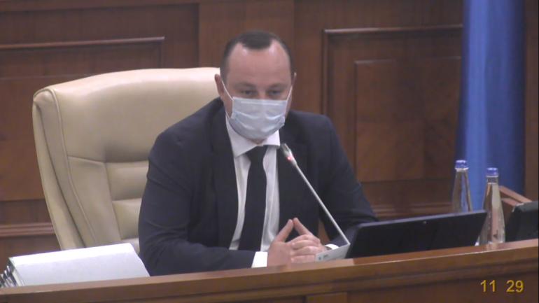 Ședința Parlamentului Republicii Moldova, din 16 septembrie 2021