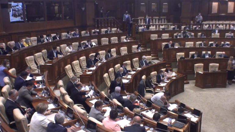 Ședința plenară a Parlamentului Republicii Moldova, din 9 septembrie 2021