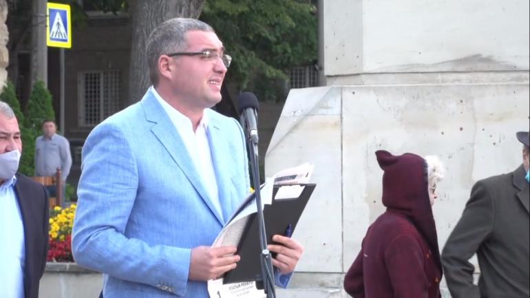 Primarul Municipiului Bălți, Renato Usatîi își prezintă raportul de activitate