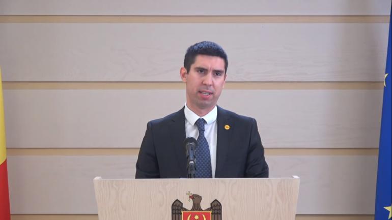 Agenda - Vicepreședintele Parlamentului, Mihai Popșoi, face declarații de presă