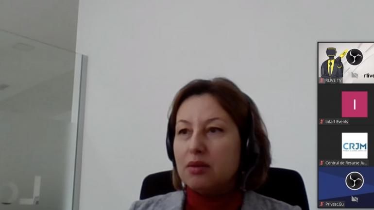 """Prezentarea analizei CRJM """"Justiția Republicii Moldova în cifre – o privire comparativă"""""""
