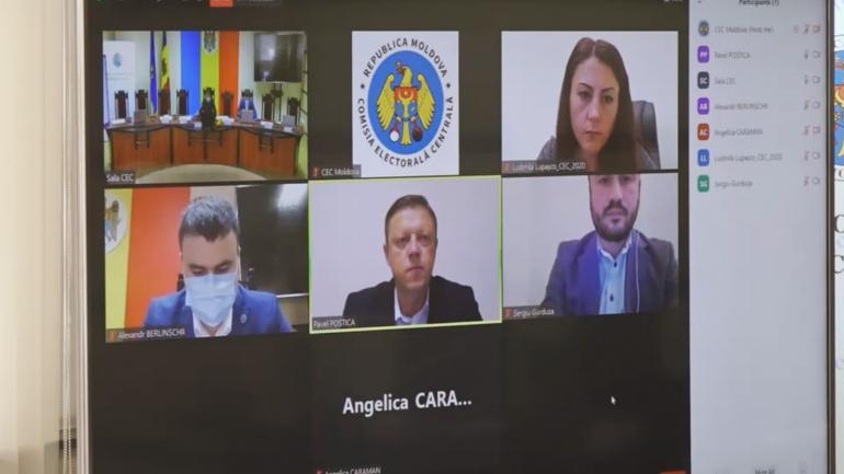 Ședința Comisiei Electorale Centrale, din 4 octombrie 2021