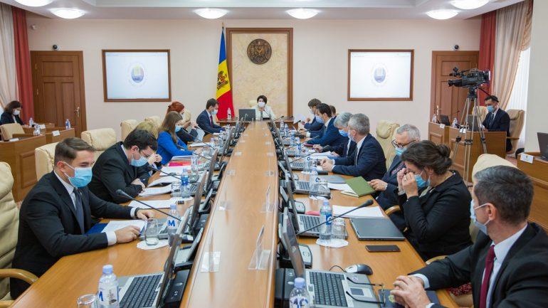 Ședința Guvernului din 30 septembrie 2021, condusă de premierul Natalia Gavrilița