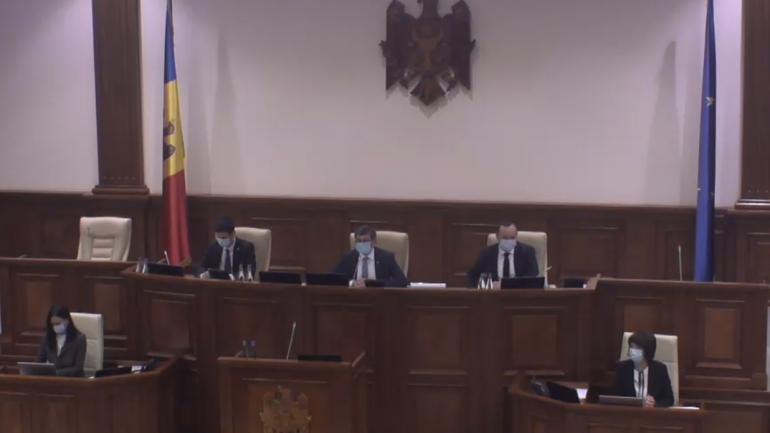 Ședința plenară a Parlamentului Republicii Moldova, din 23 septembrie 2021
