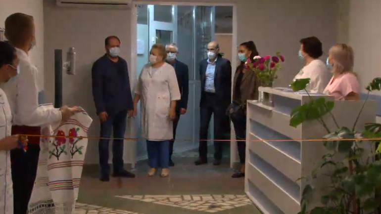 Două secții a medicilor de familie din cadrul Asociației Medicale Teritoriale Centru, inaugurate după reparație capitală