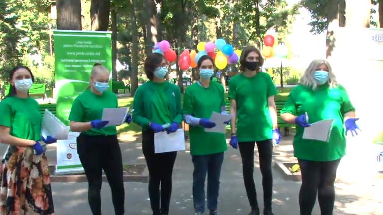 """Conferința de presă cu tema """"Crește gradul de implicare voluntară în prevenirea suicidului a cetățenilor R. Moldova din țară și din diasporă"""""""