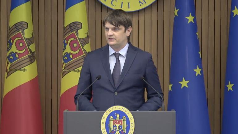 Conferință de presă susținută de ministrul Infrastructurii și Dezvoltării Regionale, Andrei Spînu, în urma vizitei efectuate la Sankt Petersburg