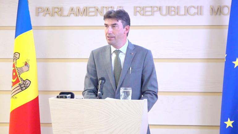 Briefing de presă susținut de Dragoș Tudorache, Raportor al Comisiei de politică externă pentru implementarea Acordului de Asociere UE-Moldova din cadrul Parlamentului European
