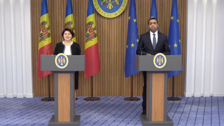 Agenda - Declarații de presă susținute de prim-ministrul Natalia Gavrilița și Rodgers Chawani, reprezentantul permanent al Fondului Monetar Internațional în Republica Moldova