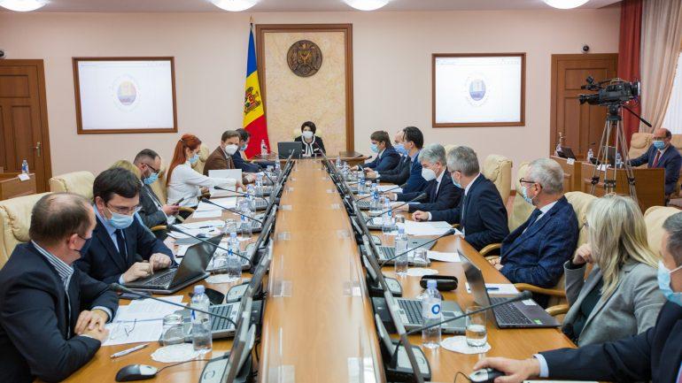 Ședința Guvernului Republicii Moldova, din 20 octombrie 2021