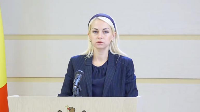 """Briefing de presă susținut de deputatul fracțiunii parlamentare a Partidului """"ȘOR"""", Marina Tauber, privind subiectul importului de gaze naturale"""