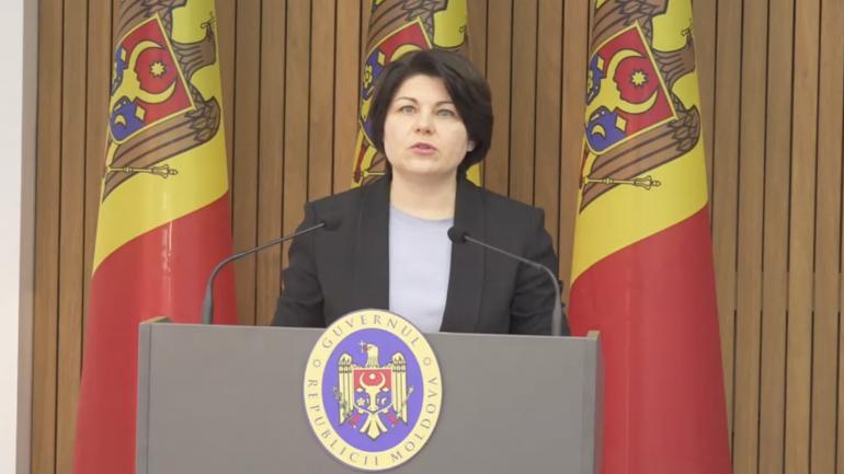 Agenda - Declarații de presă susținute de prim-ministrul Natalia Gavrilița și vicepreședintele Parlamentului, Mihai Popșoi