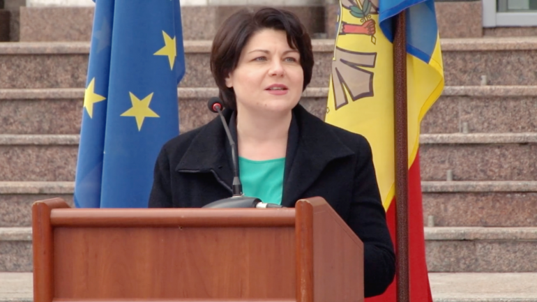 Ceremonia de delegare a unui grup de 20 de medici și paramedici moldoveni în România