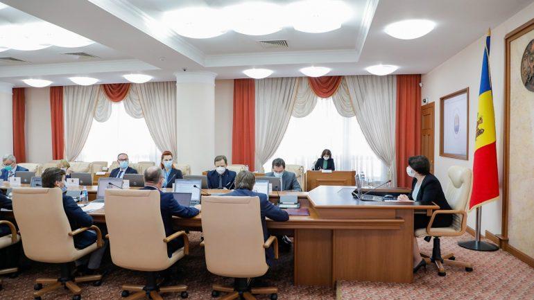 Guvernul Republicii Moldova, reunit în ședință de urgență (22 octombrie 2021)
