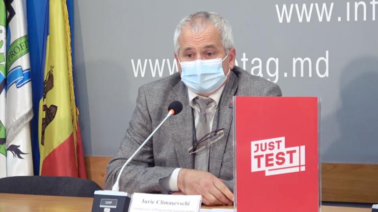 """Prezentarea campaniei naționale """"Just Test: află-ți statutul HIV"""" privind promovarea testării la HIV"""""""
