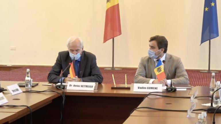 Agenda - Semnarea Declarației comune de intenție între Ministerul Economiei al Republicii Moldova și Ministerul Federal al Economiei și Energiei al Republicii Federale Germania privind colaborarea în domeniul instruirii și perfecționării managerilor de afaceri din Republica Moldova – Fit for Partnership with Germany
