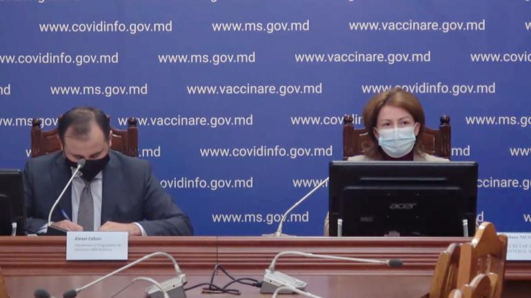Conferința de presă privind evoluția situației epidemiologice COVID-19 și a campaniei de vaccinare în Republica Moldova