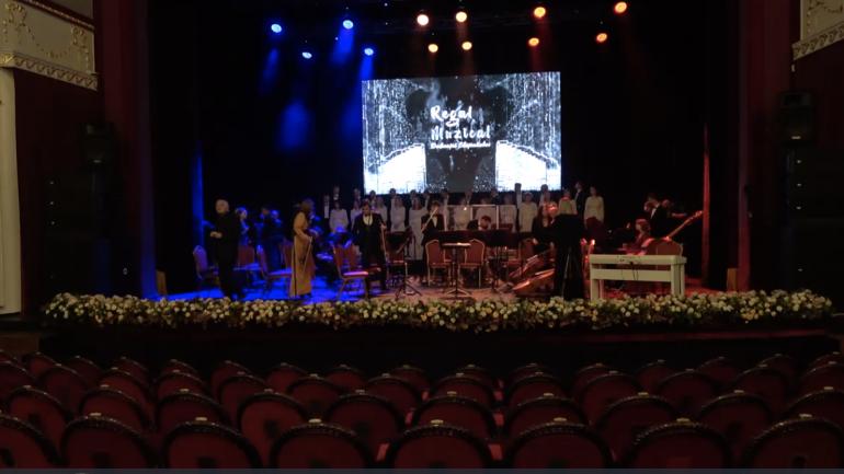 Regal muzical – dedicație Chișinăului. Maestrul Eugen Doga transmite drepturile de autor asupra imnului orașului Chișinău către Primăria Chișinău