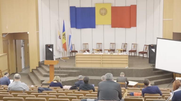 Ședința Consiliului Municipal Chișinău, din 12 octombrie 2021