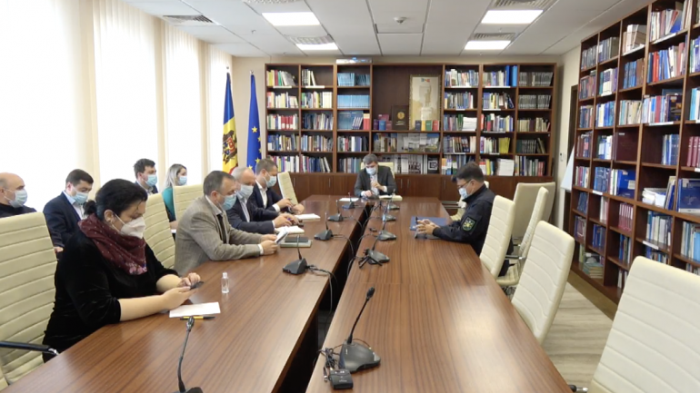 Agenda - Ședința Comisiei securitate națională, apărare și ordine publică. Este prezentat raportul de activitate a Inspectoratului General al Poliției de Frontieră