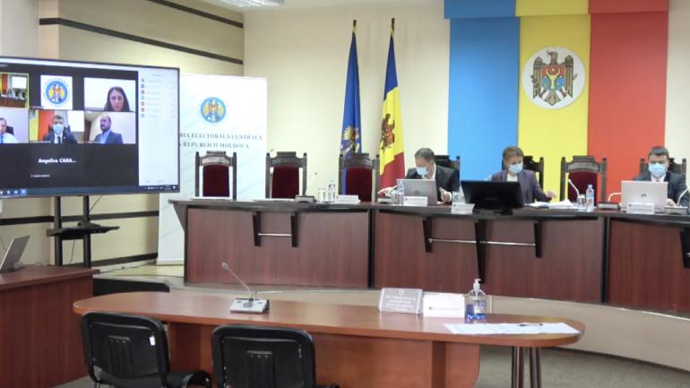 Ședința Comisiei Electorale Centrale, din 19 octombrie 2021